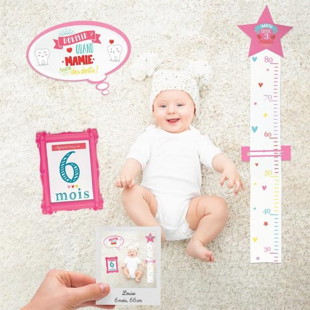 Cartes souvenirs - 1ère année de bébé