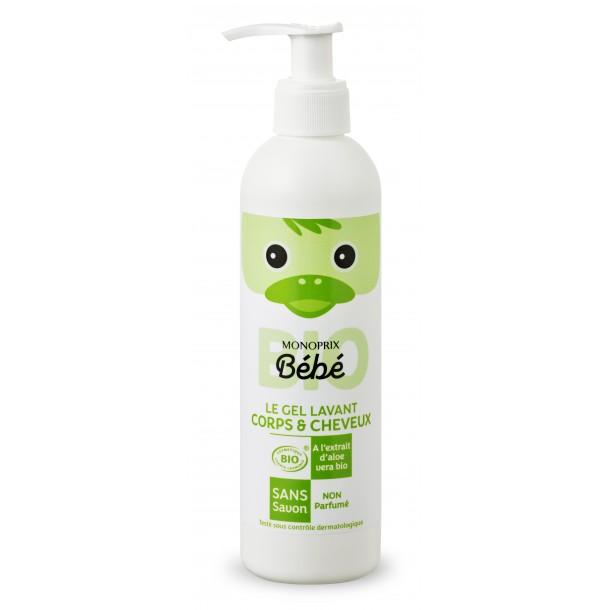Gel lavant corps & cheveux BIO