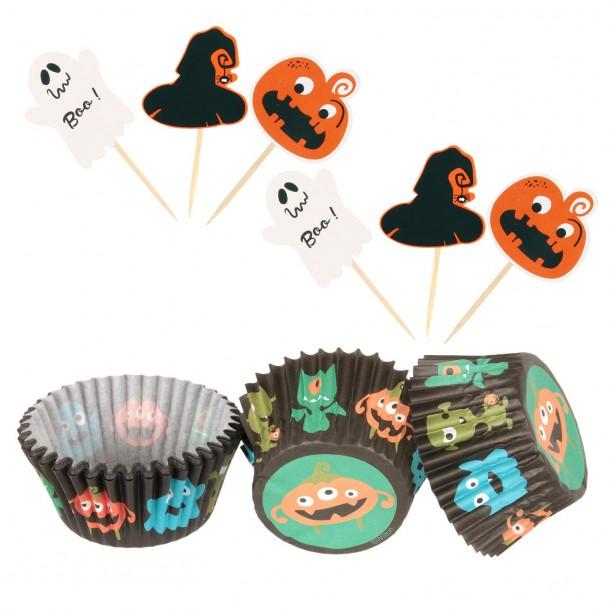 Kit cupcake - Halloween