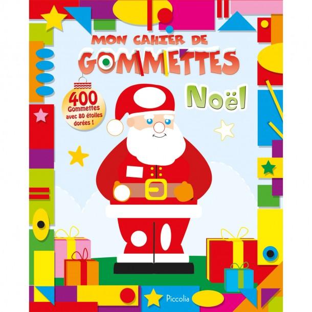 Mon cahier de gommettes brillantes Noël