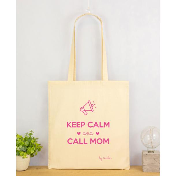 Tote Bag - Keep Calm And Call Mom
