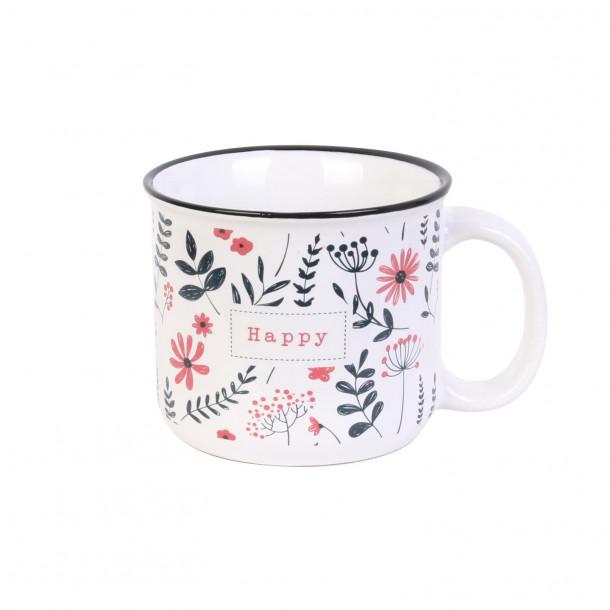Mug fleuri