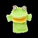Gant de toilette grenouille
