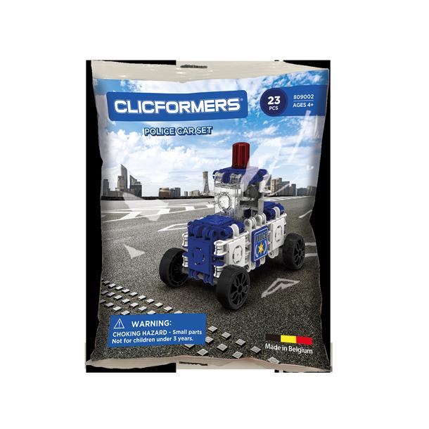 Clicformers - La voiture de police