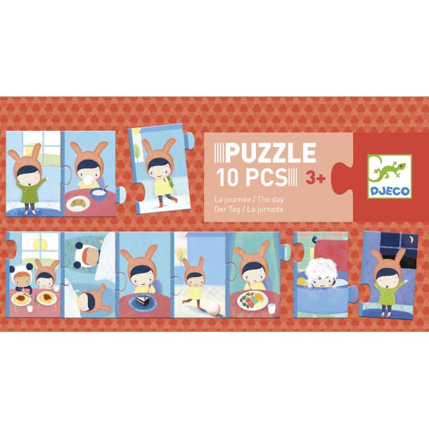 Puzzle - La journée
