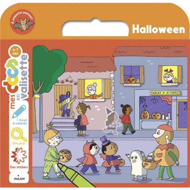 Mes docs en valisette Halloween