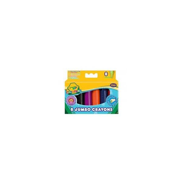Jumbo crayons à la cire