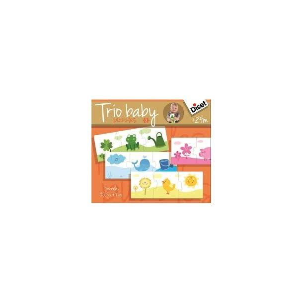 Puzzle Trio Baby Couleur