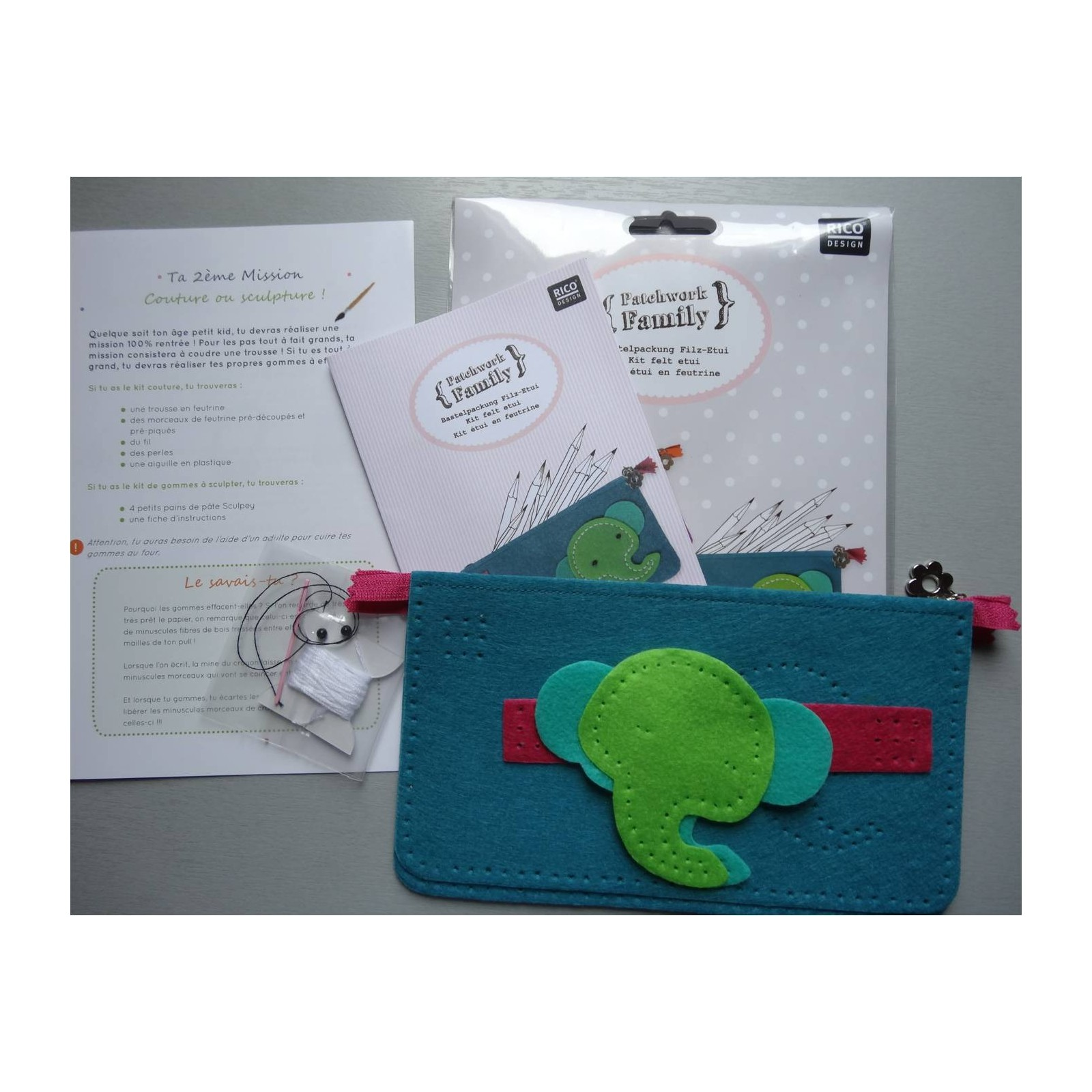 Kit couture trousse tiniloo for Couture trousse