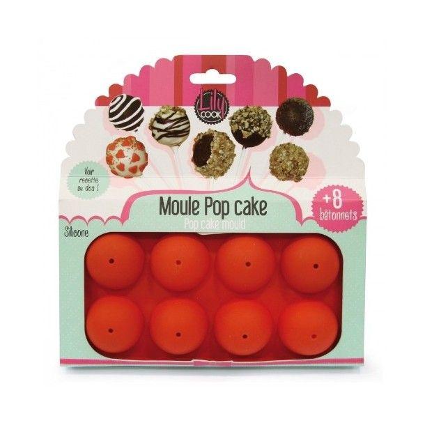 Moule à pop cakes en silicone