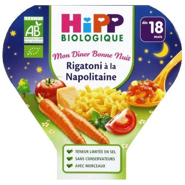 Assiette menu Hipp