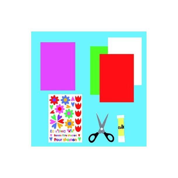 """Kit créatif """" Bonne fête Maman"""""""