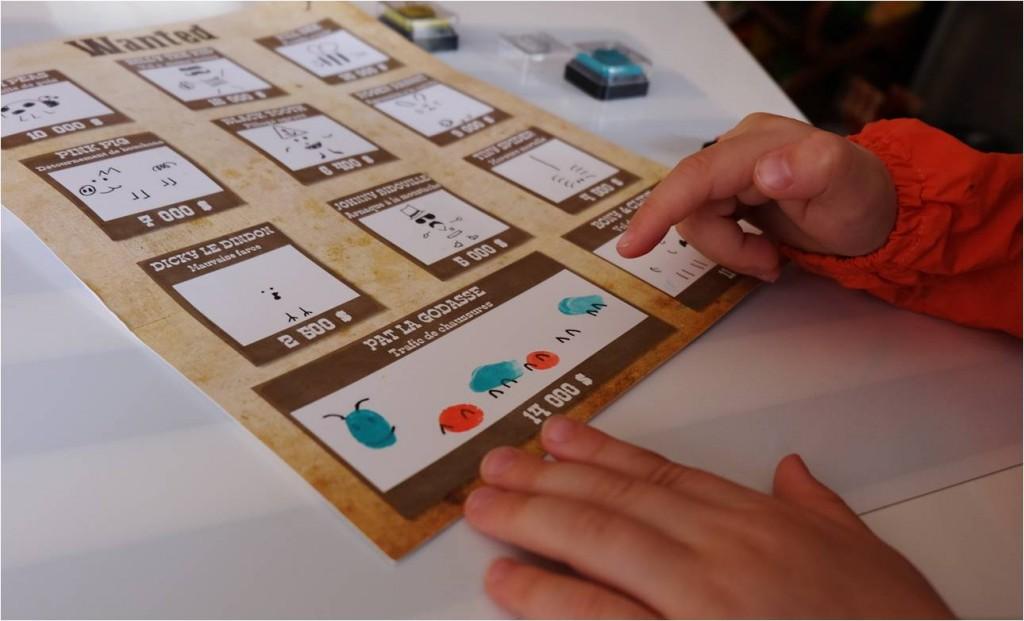 chenille en finger print