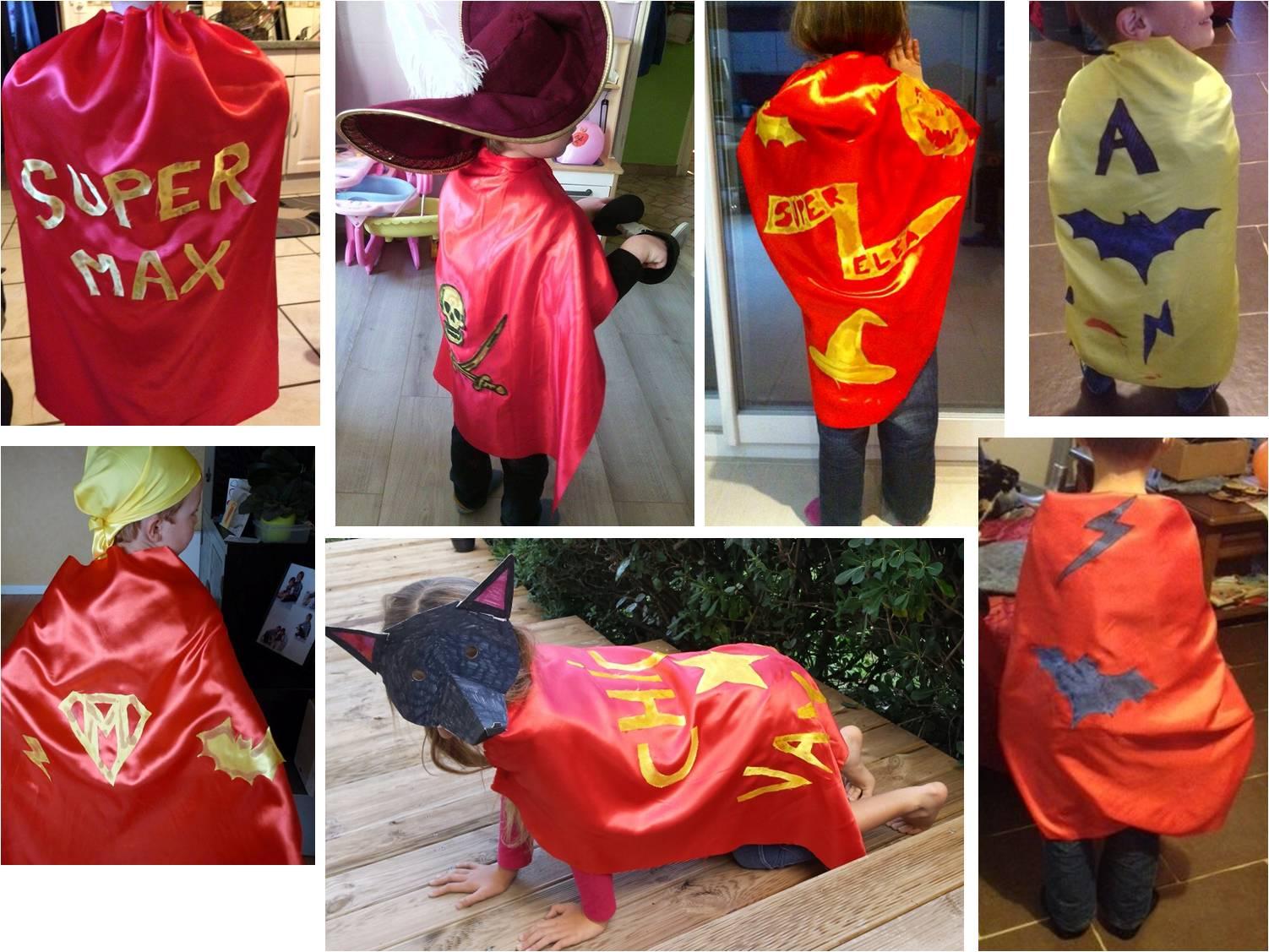 Favorit Fabriquer une cape de Super Héros sans couture ! DIY - Tiniloo ZJ36