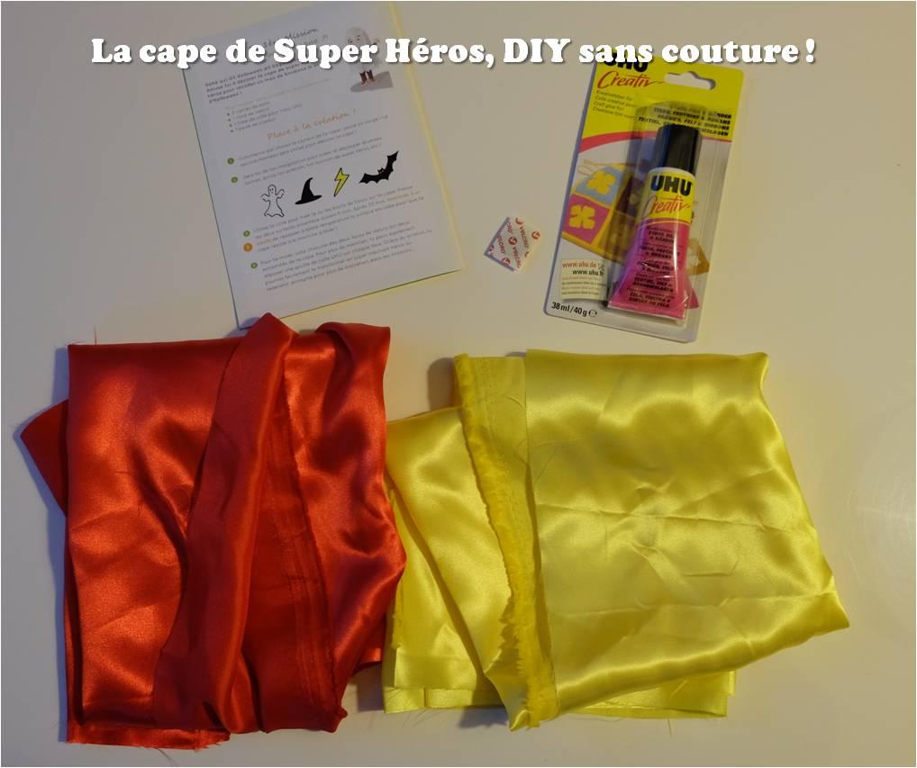 fabriquer une cape de super h ros sans couture diy tiniloo. Black Bedroom Furniture Sets. Home Design Ideas