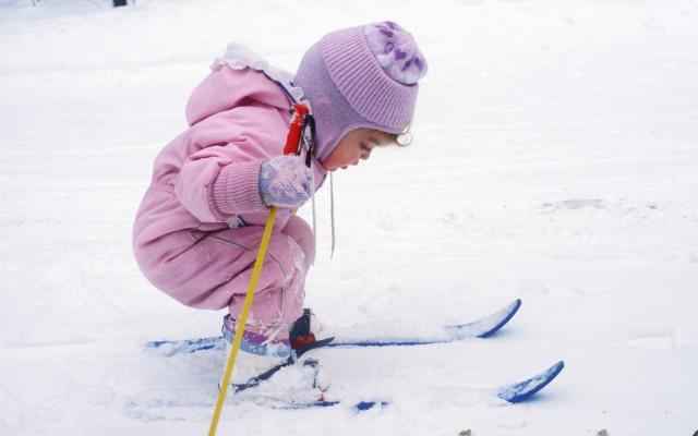 Partir au ski avec bébé