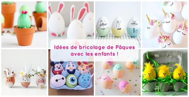 Idées de bricolage de Pâques