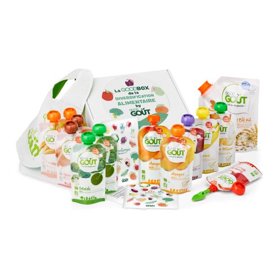 Box de diversification alimentaire good goût